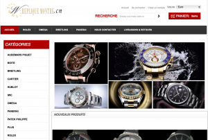 Screen capture of repliquemontre.cn made by Archive.org on January 22, 2019.